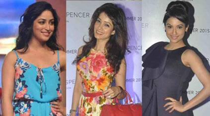 Yami Gautam, Gauahar Khan, Vidya Malwade add glitter to fashion event