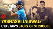 Yashasvi Jaiswal: The U19 star's story of struggle and success