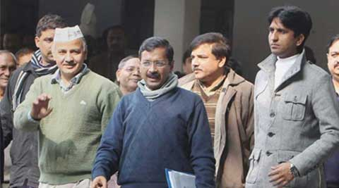 The idea of the helpline is to instill fear in the hearts of the corrupt, Kejriwal said.