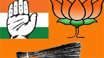 With lone Lok Sabha seat and much at stake, turmoil in Cong, BJP,AAP