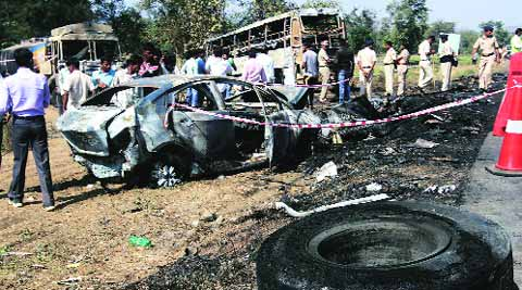 Eight persons were killed in the accident.
