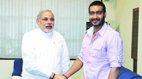 Ajay Devgan  also hosted a Google Tent event for Modi, while Priety Zinta has shown interest in starting a film studio.