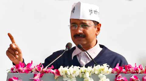 """Election Commission of India conveyed its """"concern"""" and cautioned Chief Minister Arvind Kejriwal """"to be more careful in the election campaigns in future.(Reuters)"""