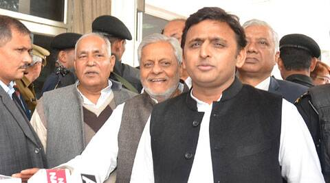 CM Akhilesh Yadav, who heads the state's forest department, and had sought permission to construct a VVIP guest house at the cost of Rs 904.06 lakh near the lion safari. (Express Photo)