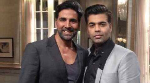 Akshay Kumar frankly said that he would rather meet Karan Johar socially than come on his show and get involved in some controversy. (Photo: Twitter)