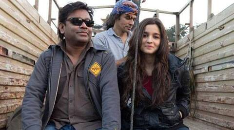 Alia Bhatt while shooting for 'Highway'. (Photo: Twitter)