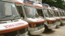 Labourer killed as ambulance hits 5 of them from back