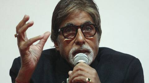 "Bachchan was speaking as a panelist at a discussion on the topic of 'Destination Branding Strategy Using Celebrity Endorsement"". (IE Photo: Javed Raja)"