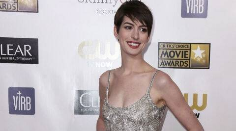Anne Hathaway had originally been given Jennifer Lawrence's Oscar-winning role in 'Silver Linings Playbook'. (Reuters)