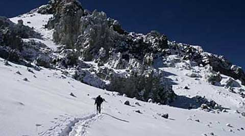 Jarod VonRueden and Frank Keenan are presumed to have died while climbing an Argentinian peak on New Year's Eve.  (AP)