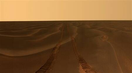 Mars rover photographs featured at USmuseum