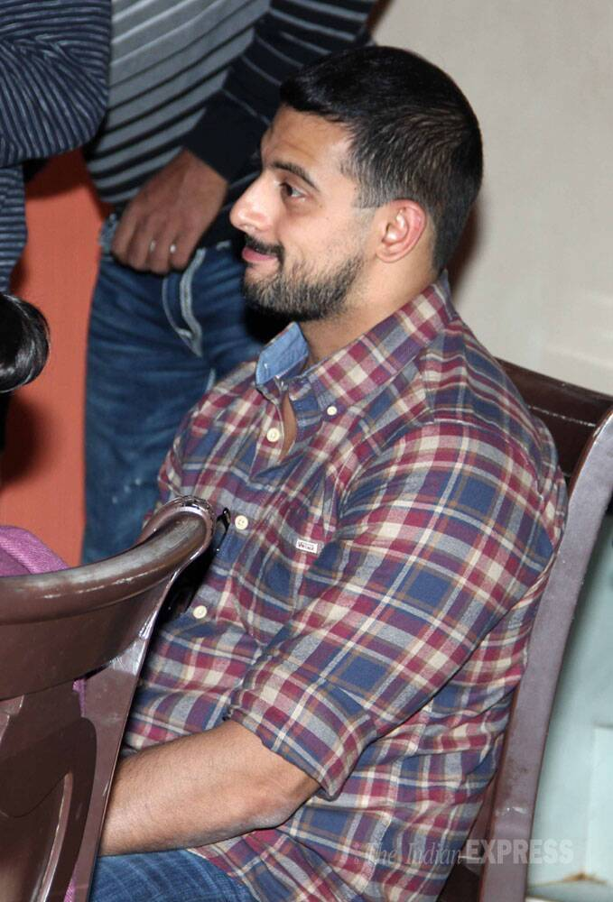 Actor Arunoday Singh was also spotted at the screening. (Photo: Varinder Chawla)