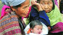 Newborn in arms, she walked 16 km to flee Karbi attack