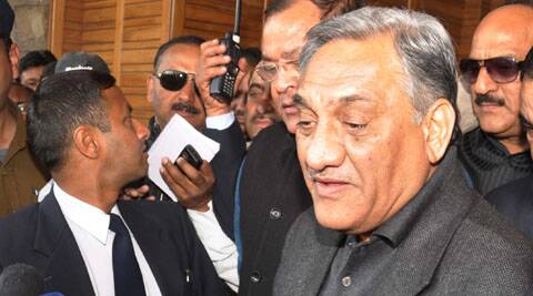 Before leaving for Rajbhavan, Bahuguna informed reporters that he is resigning from his post on the instruction of the party high command.