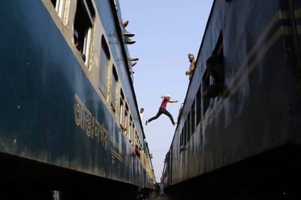 The divine train journey