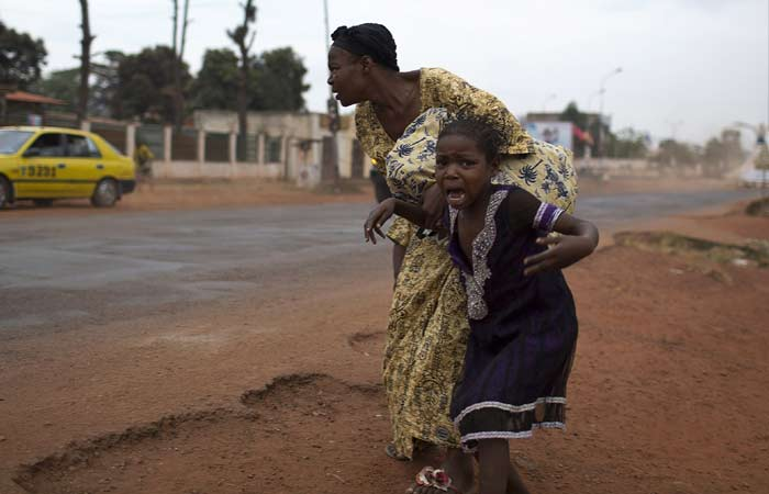 Living on the edge in conflict-hit Central African Republic