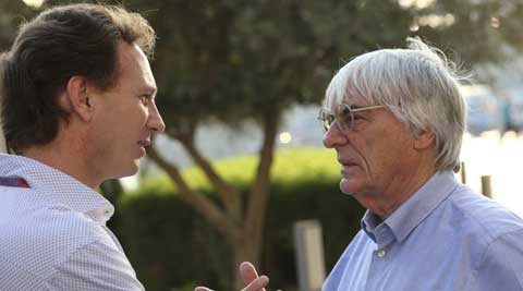 Ecclestone said in November at the High Court in London that he made a payment to avoid being reported by Gribkowsky to authorities over his tax affairs (AP)