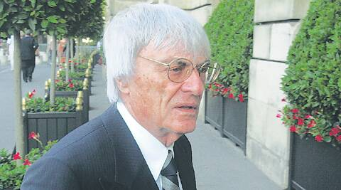 Ecclestone is due to stand trial in Munich in April on charges of bribing Gribkowsky (File)