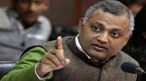 Law Minister Somnath Bharti of the AAP had allegedly harassed a group of Ugandan women in Khirki Extension insouth Delhi. (PTI)