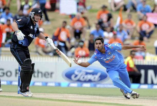 Indian bowlers dished out yet another listless performance as New Zealand scored an imposing 271 for seven in 42 overs (AP)