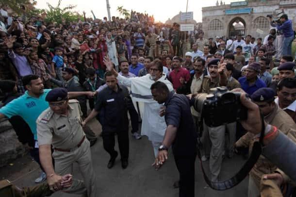 Amitabh Bachchan is busy in Gujarat