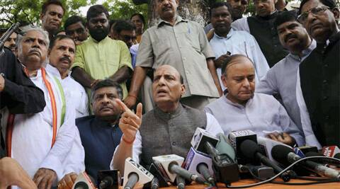 Party president Rajnath Singh said the Congress decision indicated that they accepted that Modi is going to be the Prime Minister.