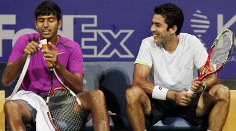 Bopanna and Qureshi took just 44 minutes to wrap up the match (File/PTI)