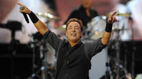 Bruce Springsteen is currently promoting the release of the new album High Hopes. (Reuters)