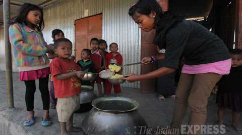 Scores of Bru families in Mizoram's western district have fled to Tripura.