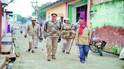 Police and PAC personnel have been deployed in the village in Bulandshahr district. Express