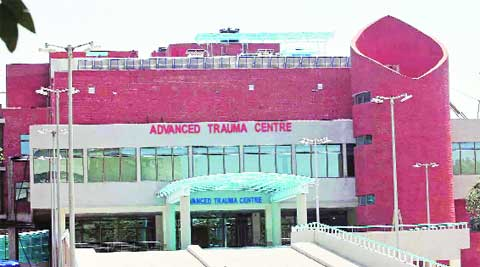 PGI's advanced trauma centre. Express Archives