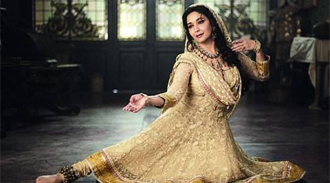 Madhuri Dixit-Nene in a still from Dedh Ishqiya.