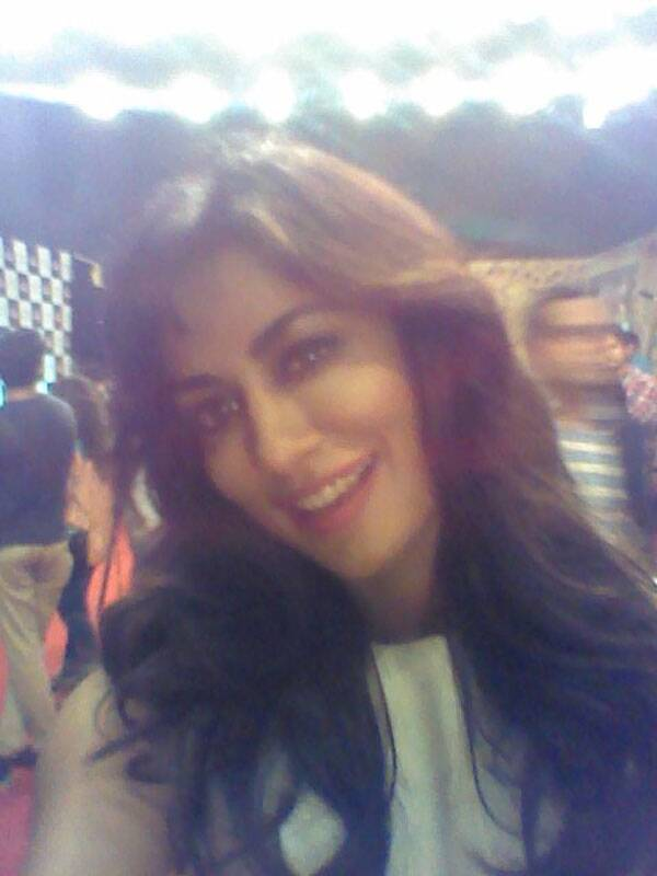 Wohoo! Bollywood siren Chitrangada Singh (nominated for Best Actor-Female) poses for us. One more to our Life OK Screen Awards.