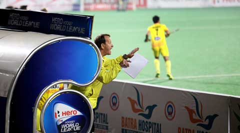 India's record against Australia at the Dhyanchand Stadium in the last three years is 3-0, with the Kookaburras outscoring the hosts by 18 goals to four (IE Photo Ravi Kanojia)