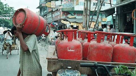 Moily said,  that the government has not increased the price of subsidised cylinders for consumers.