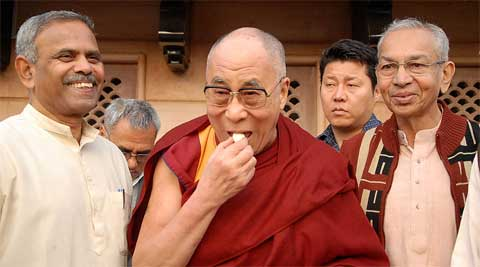 """""""RSS has always supported the cause of Tibet and hence I always had love for it,"""" Dalai Lama said."""