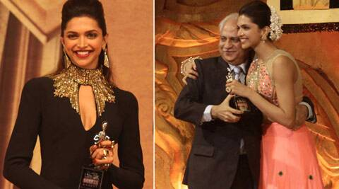 """I still haven't been able to digest the fact that I've won the Screen Award for Best Actor (Female) in both the Jury and  Popular segments. But this year has been great for me. I'm just extremely happy!""   — Deepika Padukone. (IE Photo)"