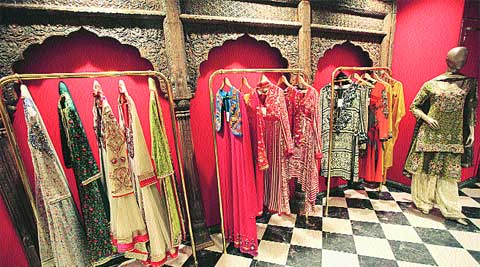Designer Indian Clothing Stores Delhi The designs at the store