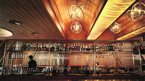 This restaurant boasts of having the largest bar in the city with a menu that resembles a culinary atlas.
