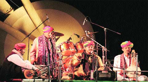 Mame Khan and Group will perform at Ragasthan.