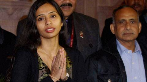 "Lawyer Arshack said Khobragade's immunity ""should have prevented"" her arrest, handcuffing, jailing, strip searching and imposition of bail conditions. (PTI)"