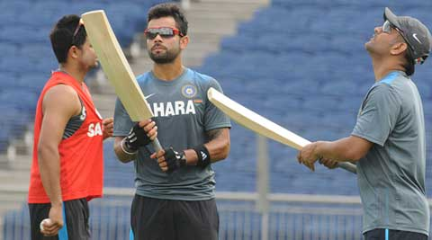 The Indian team arrived on Monday for the five-match series (File)