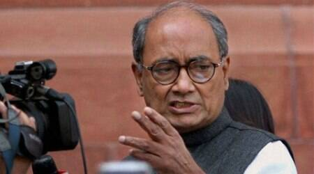 Digvijay said he is only a worker of the Congress and its leadership will decide from where he will contest the poll or not. .