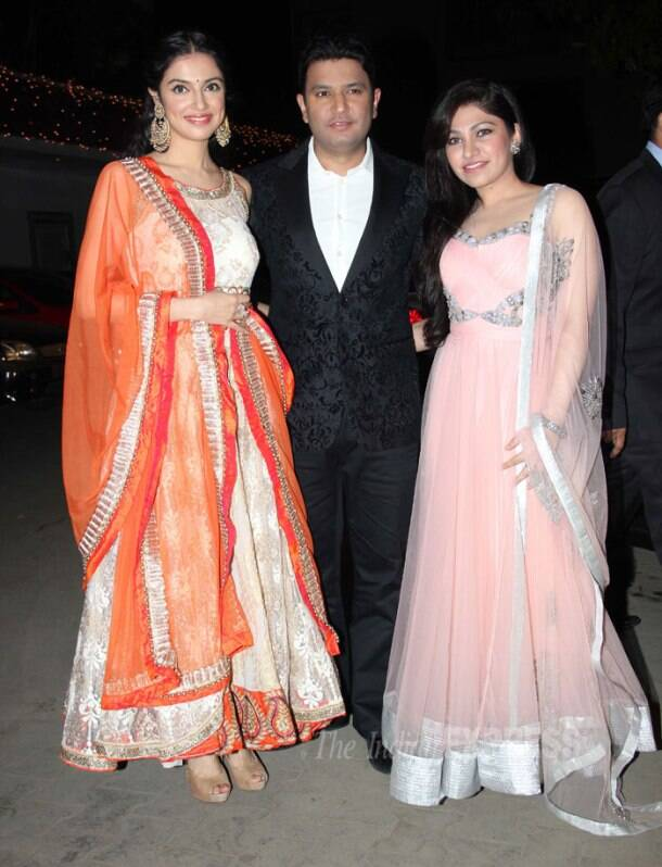 Big B, Kajol, Ajay other B-town biggies at Raghav Sachar-Amita Pathak's wedding