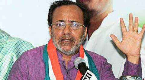 Manish Doshi said that Modi was misguiding the people on the Narmada issue.