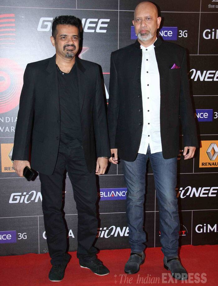 Music composers Ehsaan Noorani and Loy Mendonsa of the Shankar-Ehsaan-Loy trio were spotted together. (Photo: Varinder Chawla)