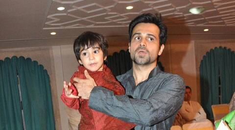 Emraan Hashmi with son Ayaan.
