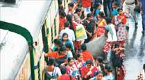 For women in Kolkata, commuting during rush-hour in trains and buses is as trying as in other cities.
