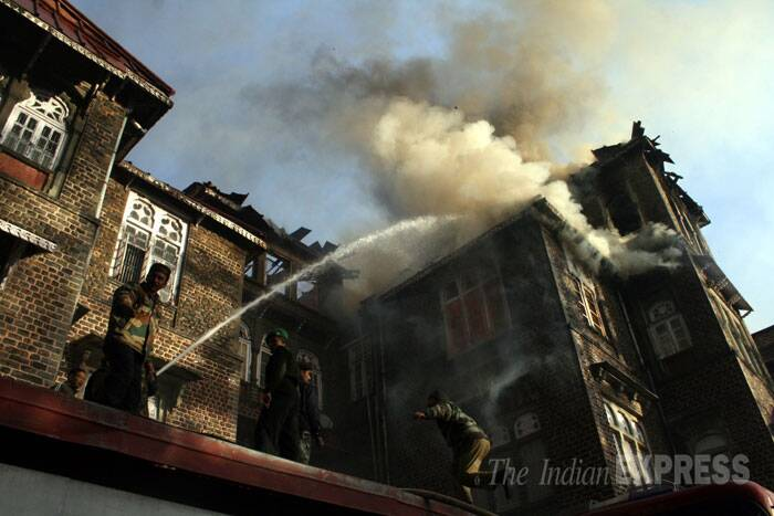 Major fire at heritage 'Gorton Castle' building in Shimla