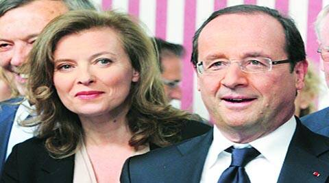 President Hollande and Valerie Trierweiler had been together since 2006